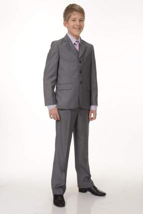 Школьный костюм SkyLake ШФ-777 Кристиан цв. светло-серый, р. 32/128