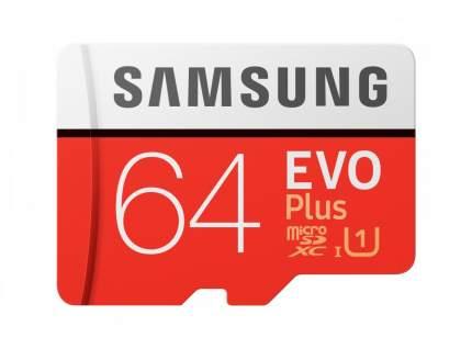 Карта памяти Samsung 64GB EVO plus (MB-MC64HARU)