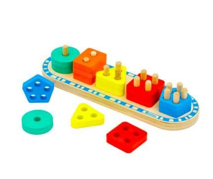 """Развивающая игрушка """"Сортер"""", 15 элемнтов Алатойс / Alatoys"""