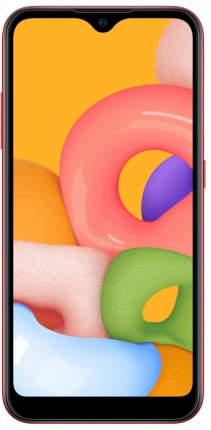 Смартфон Samsung Galaxy M01 3/32GB Red (SM-M015FZRDSER)