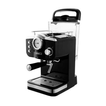 Кофеварка рожкового типа Kitfort КТ-739 Black