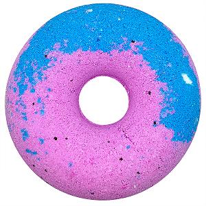 """Гейзер для ванны """"Чернично-малиновый пончик"""" 140 гр."""