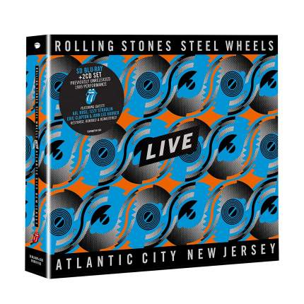 The Rolling Stones Steel Wheels Live (2CD+BR)