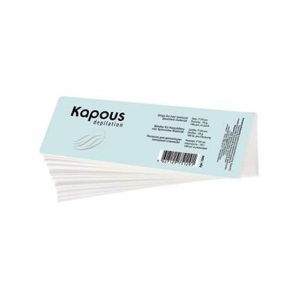 Полоска для депиляции Kapous Professional Depilation спанлейс, 7*20см, 100 шт