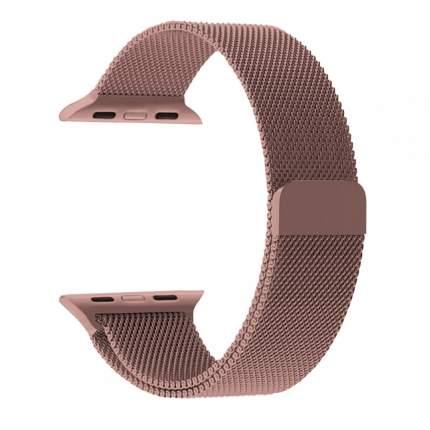 Металлический ремешок Nuobi для Apple Watch 42/44 mm (Розовый)