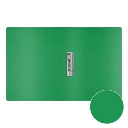 Папка с боковым зажимом пластиковая ErichKrause Classic, A4, зеленый (в пакете по 4 шт.)
