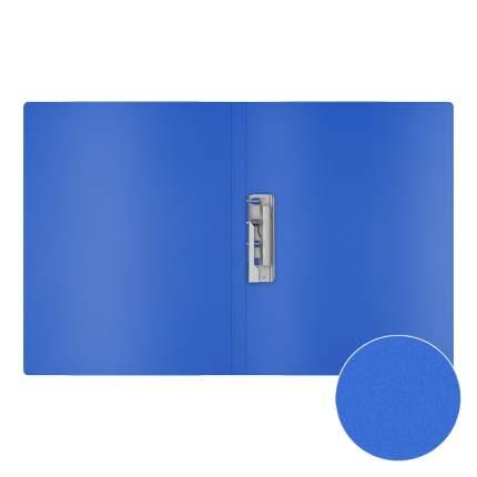Папка с боковым зажимом пластиковая ErichKrause Classic, A4, синий (в пакете по 4 шт.)