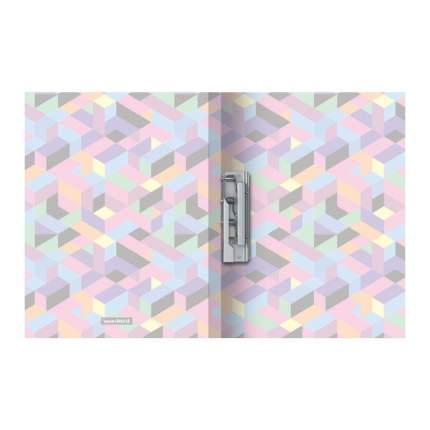 Папка с боковым зажимом пластиковая ErichKrause Disco Style, A4 (в пакете по 4 шт.)