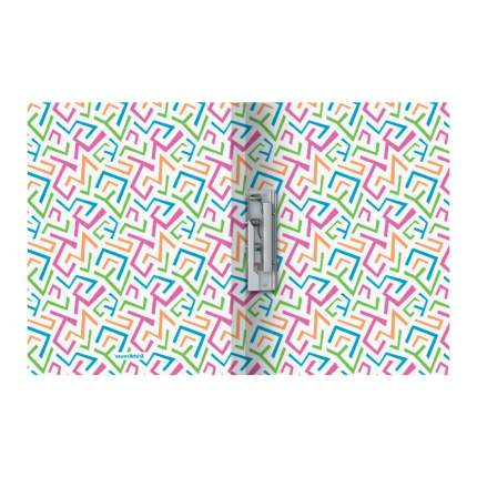 Папка с боковым зажимом пластиковая ErichKrause Lines, A4 (в пакете по 4 шт.)