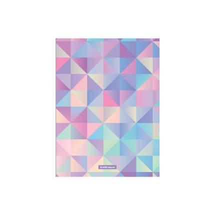 Папка с боковым зажимом пластиковая ErichKrause Magic Rhombs, A4 (в пакете по 4 шт.)