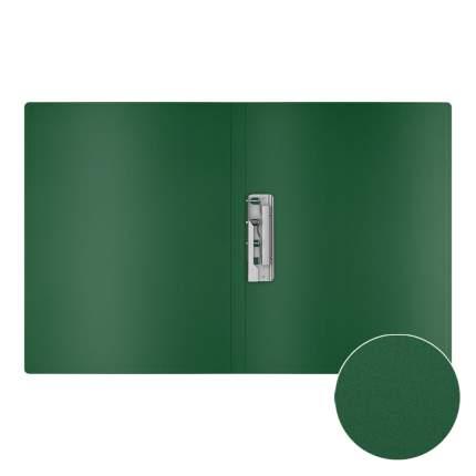 Папка с боковым зажимом пластиковая ErichKrause Matt Classic, A4, зеленый (в пакете по 4 ш