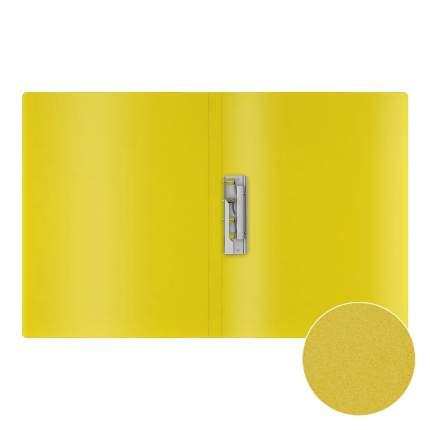Папка с боковым зажимом пластиковая ErichKrause Matt Neon, A4, ассорти (в пакете по 4 шт.)