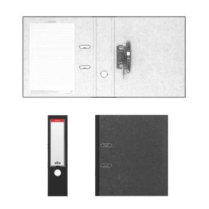 Папка–регистратор с арочным механизмом ErichKrause, Original Pro, А4, 70 мм, черный