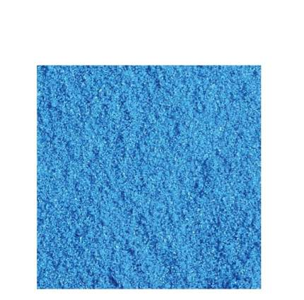 Кварцевый песок для аквариумов, для террариумов АкваГрунт синий, 2 кг, 1.5 л