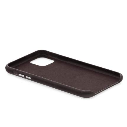 Чехол Apple iPhone 11 Kruche IXSMAXL E02 Leather Dark Brown