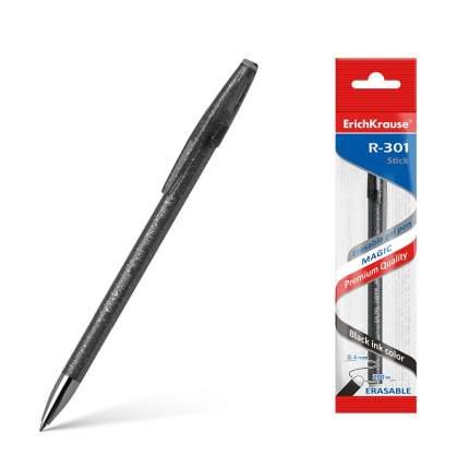 Ручка гелевая сo стираемыми чернилами ErichKrause R-301 Magic Gel 0.5, цвет чернил черный