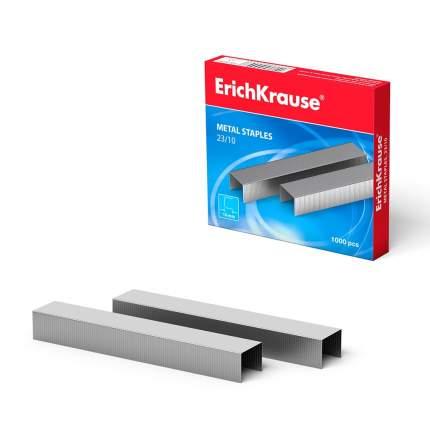 Скобы №23/10 для мощных степлеров ErichKrause (коробка 1000 шт.)