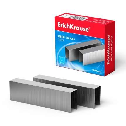 Скобы №23/23 для мощных степлеров ErichKrause (коробка 1000 шт.)