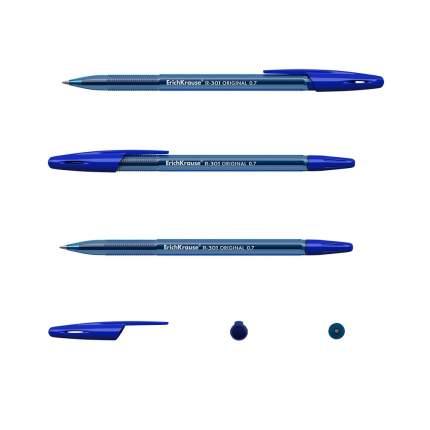 Ручка шариковая ErichKrause R-301 Original Stick 0.7 цвет чернил синий