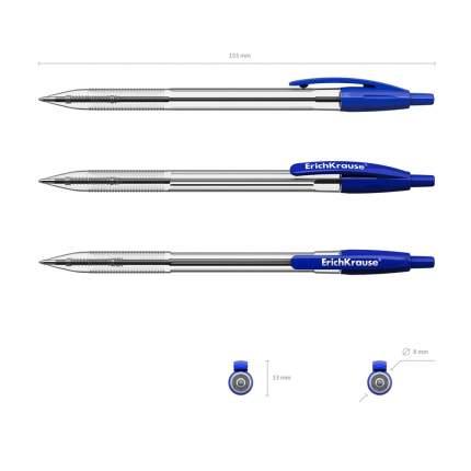 Ручка шариковая автоматическая ErichKrause R-301 Classic Matic 1.0, цвет чернил синий