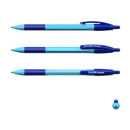 Ручка шариковая автоматическая ErichKrause R-301 Neon Matic&Grip 0.7, цвет чернил синий (в
