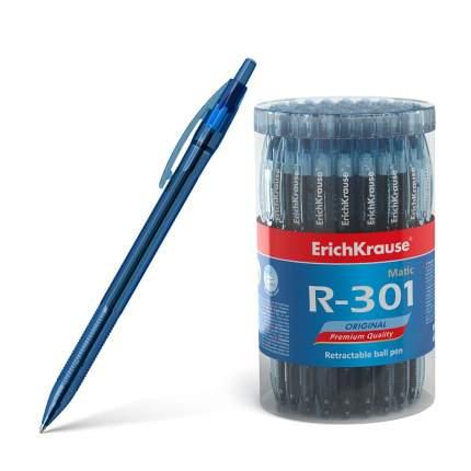 Ручка шариковая автоматическая ErichKrause R-301 Original Matic 0.7, цвет чернил синий