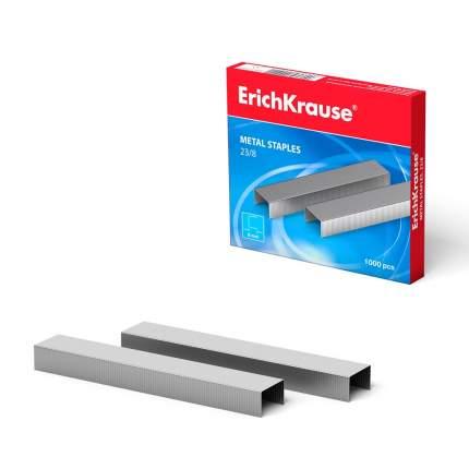 Скобы №23/8 ErichKrause (коробка 1000 шт.)