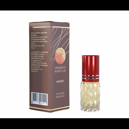 Масляные духи Difusion Beauty Lab, Interest (Интерес), унисекс, 5 мл