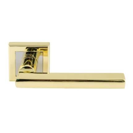 Ручка дверная на розетке НОРА-М 108 K Al - Золото