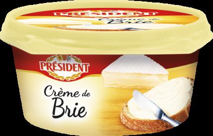 Сыр плавленый Bridel Creme de Brie 50% 125 г бзмж