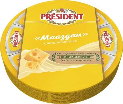 Плавленый сыр President Мааздам треугольники 45% 140 г бзмж