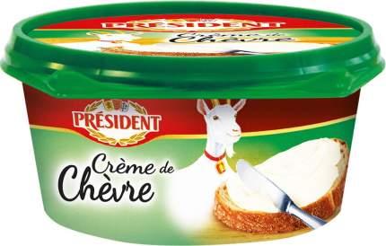 Плавленый сыр President Creme De Chevre 50% 125 г