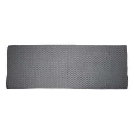 Полотенце для йоги Tunturi с мешком для переноски, 180-63 см, серое