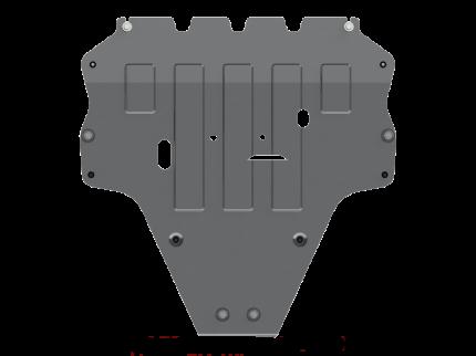 ЗК и КПП Sheriff для Инфинити QX50 2018-2020,  №1, алюминиевый сплав 4мм 15.3928