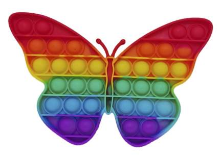 Сенсорная игрушка антистресс POP it Бабочка Popit_antistress_Butterfly_Raduga