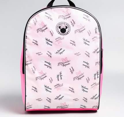 Рюкзак детский Sima-land молодежный СИТИ-2 27*14*38 Микки Маус розовый