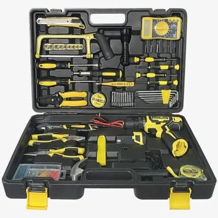 Набор инструментов с аккумуляторной дрелью-шуруповертом 127 предметов GOODKING K5-20128