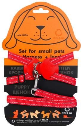Шлейка для кроликов Collar Dog Extremе, нейлон, красный, 30-45 см
