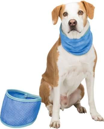 Охлаждающая бандана для собак, L: 38–52 см, синий, Trixie (30138)