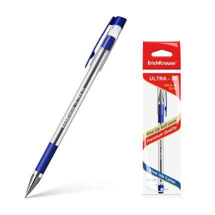 Ручка шариковая ErichKrause® ULTRA-30, синий в пакете 1 шт