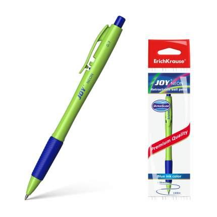 Ручка шариковая автоматическая ErichKrause® JOY® Neon Ultra Glide Technology синий 1 шт