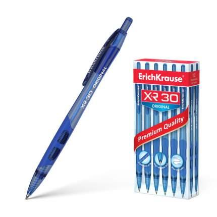 Ручка шариковая автоматическая ErichKrause® XR-30 Original, синий в коробке 12 шт