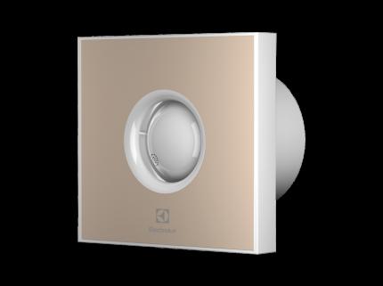 Вентилятор вытяжной Electrolux серии Rainbow EAFR-100T beige с таймером