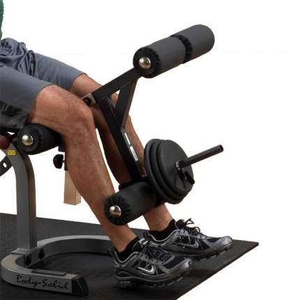 Опция сгибание/разгибание ног Body Solid GLDA-1