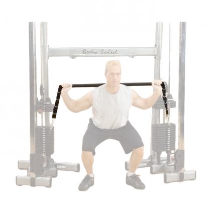 Опция верхняя тяга/нижняя тяга Body Solid GDCCBAR