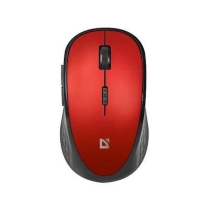 Беспроводная мышь Defender Hit MM-415 6 кнопок 1600dpi Red (52415)