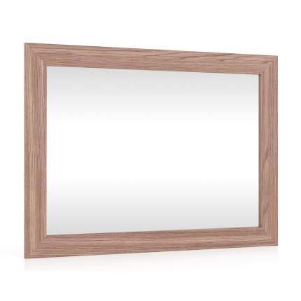 Зеркало настенное Мебельный Двор Зерк-МД 80х60 см, ясень шимо тёмный
