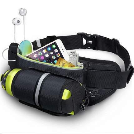 Спортивная сумка пояс со скрытым карманом для бутылки Atlanterra AT-RB-03