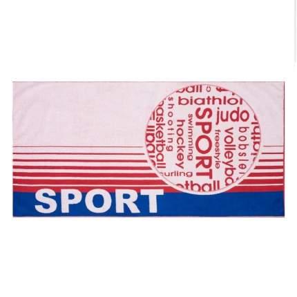 Полотенце махровое Спорт микс размер 70*140 жаккард.