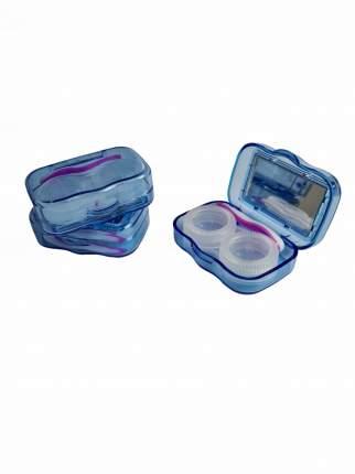 Контейнер для линз DOX  B17-1 синий 14656310